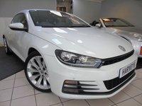 2015 VOLKSWAGEN SCIROCCO 2.0 GT TDI BLUEMOTION TECHNOLOGY 2d 150 BHP £11995.00