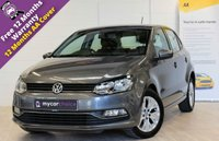 USED 2016 16 VOLKSWAGEN POLO 1.0 SE 5d 74 BHP 1 OWNER, FULL SERVICE HISTORY
