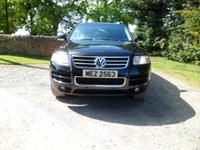 USED 2006 56 VOLKSWAGEN TOUAREG 3.0 V6 TDI ALTITUDE 5d AUTO 221 BHP EXCELLENT CONDITION. TOP SPEC ALTITUDE. 3.0 V6 TDI. SAT NAV. FULL LEATHER. HEATED SEATS. VERY LOW MILES