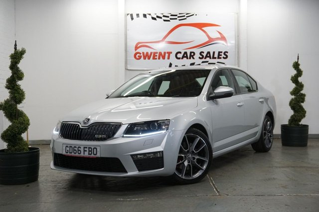 USED 2017 66 SKODA OCTAVIA 2.0 VRS TDI DSG 5d AUTO 181 BHP WOW !! GET A £500 FINANCE CONTRIBUTION ON THIS VEHICLE