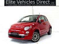 2014 FIAT 500 1.2 LOUNGE 3d  £5491.00