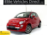 USED 2014 14 FIAT 500 1.2 LOUNGE 3d