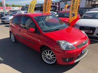 USED 2006 55 FORD FIESTA 1.6 ZETEC S 16V 3d 100 BHP GREAT EXAMPLE PART X TO CLEAR