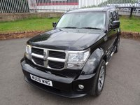 USED 2008 08 DODGE NITRO 2.8 SXT TD 5d AUTO 175 BHP 3 Months National Warranty - 1 Years MOT for New Owner