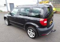 USED 2012 62 SKODA YETI 1.6 ELEGANCE GREENLINE II TDI CR 5d 103 BHP 3 Months National Warranty - Excellent Service History 7 Stamps