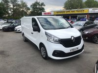 2015 RENAULT TRAFIC 1.6 LL29 BUSINESS PLUS DCI S/R P/V 1d 115 BHP IN WHITE WITH 113000 MILES IN IMMACULATE CONDITION.FINAL PRICE PLUS VAT £6499.00