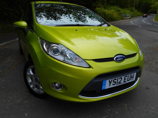 2012 12 FORD FIESTA 1.4 ZETEC 16V 3d AUTO 96 BHP ** AUTOMATIC, ONE PREVIOUS OWNER , YES ONLY 43K, OUTSTANDING VEHICLE THROUGHOUT **