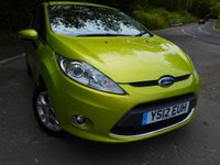 USED 2012 12 FORD FIESTA 1.4 ZETEC 16V 3d AUTO 96 BHP ** AUTOMATIC, ONE PREVIOUS OWNER , YES ONLY 43K, OUTSTANDING VEHICLE THROUGHOUT **