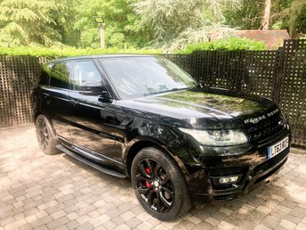 2014 LAND ROVER RANGE ROVER SPORT 3.0 SDV6 AUTOBIOGRAPHY DYNAMIC 5d AUTO 288 BHP £37995.00
