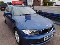 USED 2009 09 BMW 1 SERIES 2.0 120D SE 5d AUTO 174 BHP
