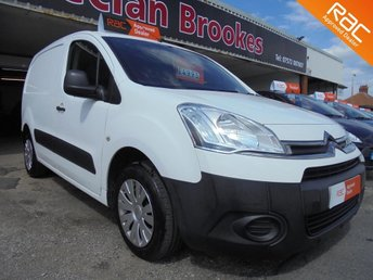 2012 CITROEN BERLINGO 1.6 HDi L1 625 LX Panel Van 5dr £4995.00