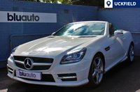 USED 2011 61 MERCEDES-BENZ SLK 200 1.8 BLUE EFFICIENCY AMG SPORT EDITION 125 2d 184 BHP COMMAND Satellite Navigation, Front & Rear Parking Sensors, Bluetooth & iPod Connectivity, Full Black Leather Interior, Climate & Cruise Control...