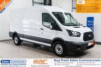 2018 FORD TRANSIT 2.0 350 L3 H2 P/V DRW *FORD WARRANTY UNTIL MARCH 2021* £17995.00