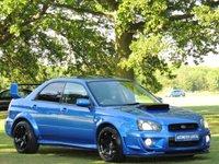 2003 SUBARU IMPREZA 2.0 WRX TURBO 4d 224 BHP £8890.00