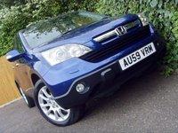 2009 HONDA CR-V 2.0 I-VTEC EX 5d AUTO 148 BHP £7699.00