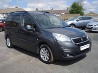 USED 2015 15 PEUGEOT PARTNER 1.6 BLUE HDI S/S TEPEE ALLURE 5d 120 BHP ROAD TAX ONLY £30 A YEAR