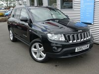 2012 JEEP COMPASS 2.1 CRD LIMITED 4WD 5d 161 BHP £6980.00
