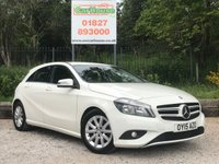 USED 2015 15 MERCEDES-BENZ A CLASS 1.5 A180 CDI ECO SE 5dr Sat Nav, PDC, Part Leather