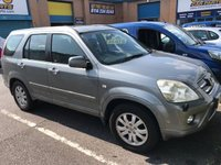 USED 2005 05 HONDA CR-V 2.2 I-CTDI EXECUTIVE 5d 138 BHP PX TO CLEAR SOLD AS SEEN 12 SERVICE STAMPS FULL MOT