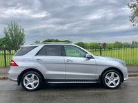 2014 MERCEDES-BENZ M CLASS 2.1 ML250 BLUETEC AMG LINE 5d AUTO 204 BHP £20995.00