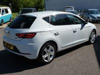 USED 2017 17 SEAT LEON 1.4 TSI FR TECHNOLOGY DSG 5d AUTO 148 BHP 5 door Only 16,300 miles! Finished in Nevada white, Sat Nav, DAB,Apple play, touch screen, park assist, alloys, £20 RFL,