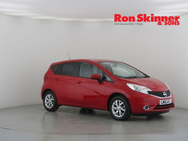 View our 2015 15 NISSAN NOTE 1.2 ACENTA 5d 80 BHP