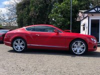 USED 2013 13 BENTLEY CONTINENTAL 4.0 GT V8 2d AUTO 500 BHP