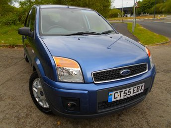 2005 FORD FUSION 1.4 ZETEC CLIMATE 5d 78 BHP ** ONE PREVIOUS OWNER , ONLY 44K , PART EXCHANGE TO CLEAR ** £2495.00