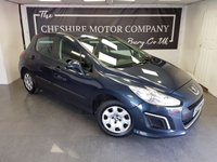 USED 2013 13 PEUGEOT 308 1.6 HDI ACCESS 5d + 1 FORMER KEEPER + £20 TAX PER YEAR