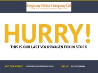USED 2011 11 VOLKSWAGEN FOX 1.2 12V 3d 59 BHP GUARANTEED TO BEAT ANY 'WE BUY ANY CAR' VALUATION ON YOUR PART EXCHANGE