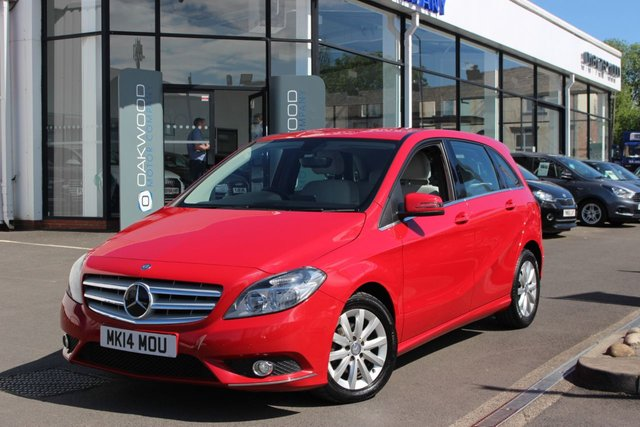 USED 2014 MERCEDES-BENZ B CLASS 1.6 B180 SE 7G-DCT 5dr