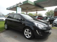 2013 VAUXHALL CORSA 1.2 SXI AC 5d 83 BHP 4 SERVICE STAMPS £SOLD