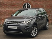 USED 2015 15 LAND ROVER DISCOVERY SPORT 2.2L SD4 HSE 5d AUTO 190 BHP