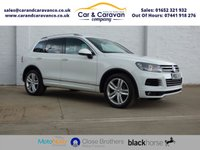 USED 2012 62 VOLKSWAGEN TOUAREG 3.0 V6 ALTITUDE TDI BLUEMOTION TECHNOLOGY 5d AUTO 242 BHP Full Service History Huge Spec Buy Now, Pay Later Finance!