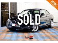2014 BMW 2 SERIES 2.0 220D SPORT 2d 181 BHP £13785.00