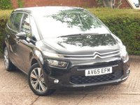 2015 CITROEN C4 GRAND PICASSO 1.6 BLUEHDI SELECTION 5d 118 BHP £9949.00