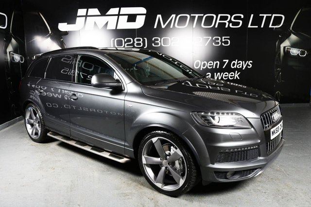 2013 63 AUDI Q7 3.0 TDI S LINE PLUS BLACK EDITION STYLE 245 BHP (FINANCE AND WARRANTY)