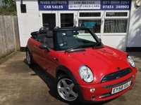 2008 MINI CONVERTIBLE 1.6 ONE 2d 89 BHP £5995.00