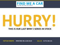 USED 2013 63 BMW 5 SERIES 2.0 520D M SPORT 4d AUTO 181 BHP SHARK FIN ROOF AERIAL