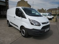 2018 FORD TRANSIT CUSTOM 290 BASE 2.0TDCi 105PS EURO 6 LONDON FRIENDLY  L1 H1 VAN, £11995.00