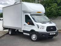 USED 2016 16 FORD TRANSIT 350 RWD 2.2 125 BHP LUTON 15 FT BODY TAIL LIFT