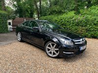2011 MERCEDES-BENZ C CLASS 1.8 C180 BLUEEFFICIENCY AMG SPORT EDITION 125 2d 156 BHP £9989.00