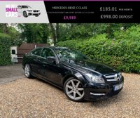 USED 2011 61 MERCEDES-BENZ C CLASS 1.8 C180 BLUEEFFICIENCY AMG SPORT EDITION 125 2d 156 BHP LOW MILES FULL SERVICE 1/2 LTH DAB SAT NAV BLUETOOTH CRUISE CONT