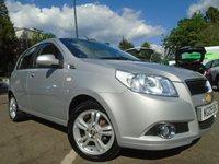 2009 CHEVROLET AVEO 1.4 LT 5d AUTOMATIC 99 BHP £SOLD