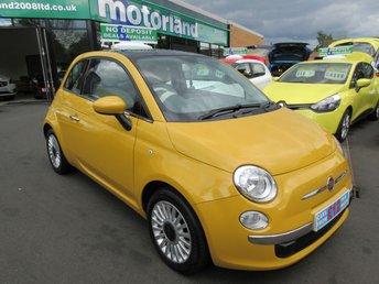 2012 FIAT 500 1.2 LOUNGE 3d 69 BHP £4600.00