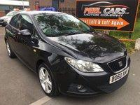 2010 SEAT IBIZA 1.4 SPORT 3d 85 BHP £3295.00