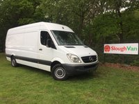 2010 MERCEDES-BENZ SPRINTER 2.1 313 CDI LWB CHOICE AVAILBLE £5995.00