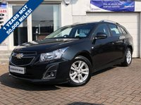 USED 2013 13 CHEVROLET CRUZE 1.6 LT 5d 122 BHP SUPPLIED WITH 12 MONTHS MOT, LOVELY CAR TO DRIVE