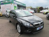 USED 2011 11 FORD FOCUS 1.6 ZETEC TDCI 5d 109 BHP **FACTORY FITTED SAT NAV**