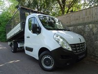 USED 2014 63 RENAULT MASTER 2.3 ML35 DCI L/R CAGED TIPPER 1d 125 BHP